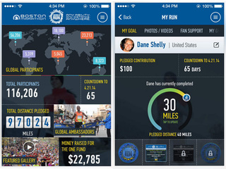Boston Marathon goes worldwide with new app