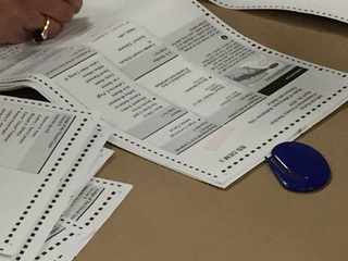 Voters receiving already marked ballots in MD