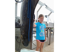 9-year-old girl shatters fishing record