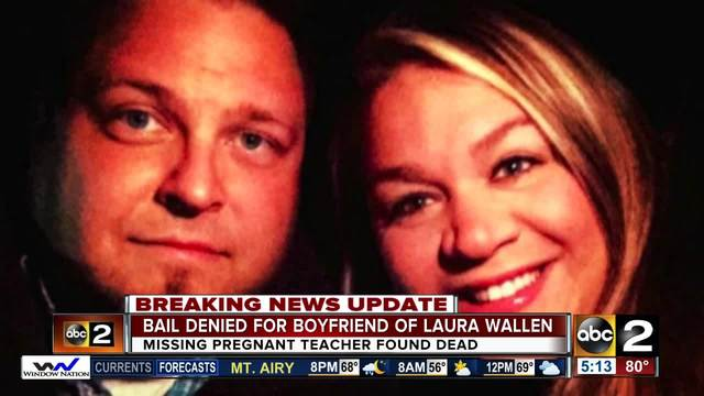 Pregnant Maryland teacher found dead in shallow grave, boyfriend charged with murder