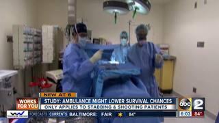 Do ambulances actually lower survival chances?
