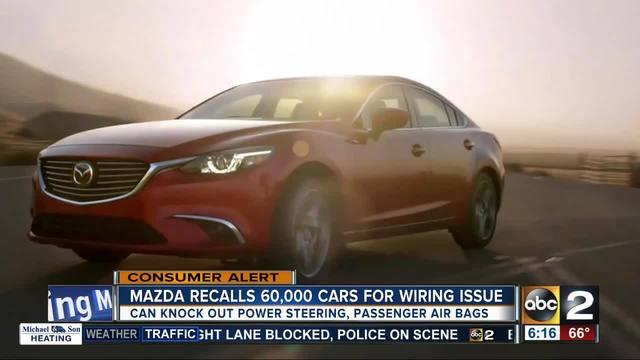 Mazda Recalling Over Cars For Potential Steering Problems - Cool cars for 60000