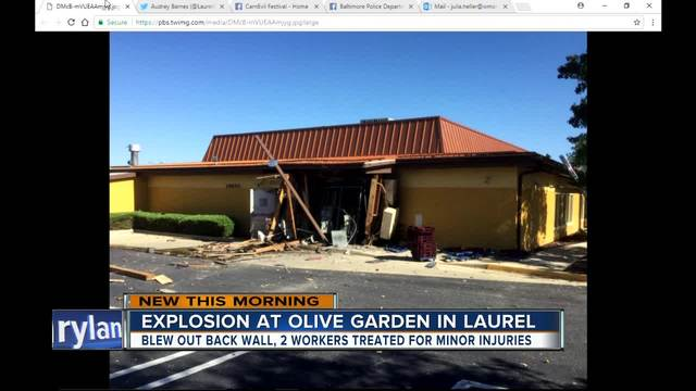 explosion tears through maryland olive garden - Olive Garden Indianapolis