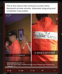 Md. students at center of viral Halloween post