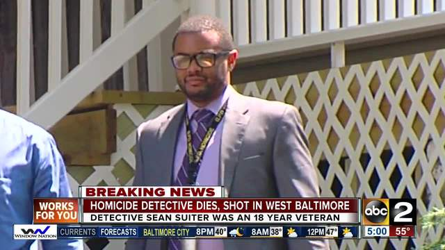 Baltimore Police announced that Detective Sean Suiter died after he was shot while on-duty