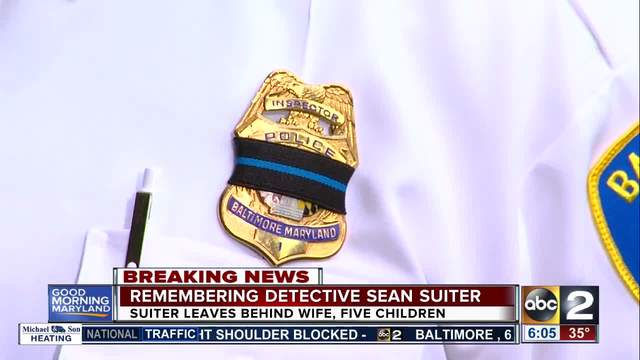 Authorities ramp up search for Detective Sean Suiter's killer
