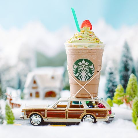 Here's what Starbucks' Christmas Tree Frappuccino really tastes like