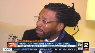 Man who filmed viral patient video speaks out