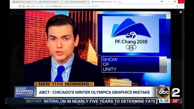 tv station uses p f chang in olympics graphic tmj4 milwaukee wi