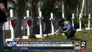 Lie-in in D.C. planned after FL school shooting