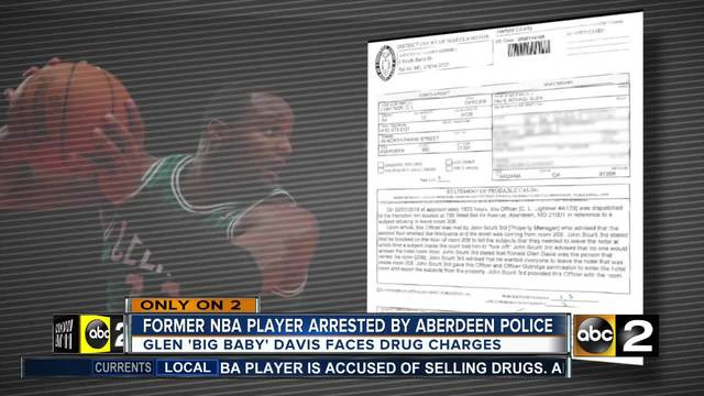 Former NBA Player Glen 'Big Baby' Davis Arrested on Drug Charges
