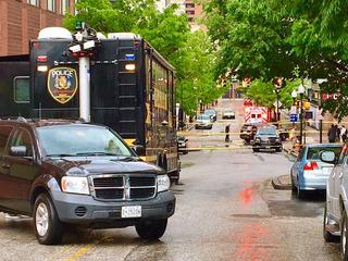 Man cut in half by light rail train in Baltimore