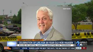 Memorial for Capital Gazette shooting victim
