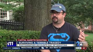 Photographer recounts Capital Gazette shooting