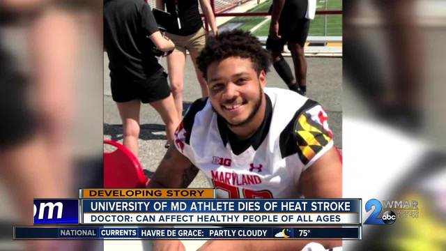 19-year-old athlete dies from heat stroke- doctors say it can happen to…