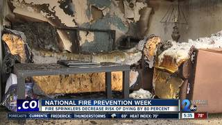 Fire officials urge homeowners to get sprinklers